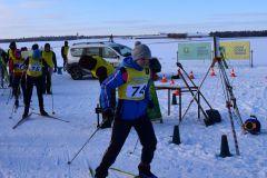 Соревнования по лыжным гонкам 2021